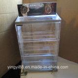 Caixa de exibição de relógio de plástico transparente personalizado