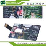 플라스틱 카드 자유로운 로고 USB 섬광 드라이브