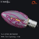 새로운 디자인 제품 장식적인 LED 필라멘트 전구