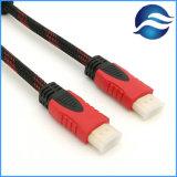 Nylonvideo HDMI Kabel der flechten-Unterstützungs1080p HD