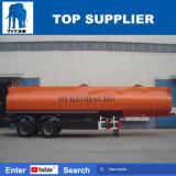 Depósito de gasolina del aislante de los árboles del titán 2 40000 litros del petrolero de acoplado de gasolina y aceite semi