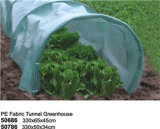 El paño grueso y suave resistente ULTRAVIOLETA reutilizable del PE crece el túnel para las plantas