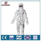 個人保護装置のアルミホイルの防護衣