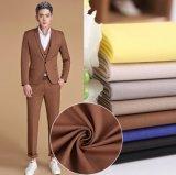 T/R polyester Tissu de rayonne costume couleur unie