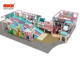 Mich Funny Kids Piscina Soft parque infantil com Donut deslize
