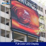 Luminosité élevée de la publicité de plein air plein écran à affichage LED de couleur de bord avec affichage LED P4