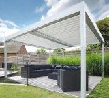 D'ouvrir obturateur de buse soleil de toit en aluminium Pergola Louvre pavillon de toit