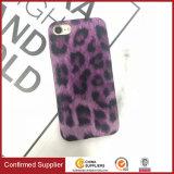 Qualidade de luxo Caso Telefone padrão leopardo PU Caso Telefone