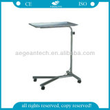 AG-Ss008b 304 en acier inoxydable Tray Stand Hospital Crash Cart