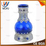 이중관 Hookah Shisha 최신 판매 두바이 알루미늄 Fakher 명확한 유리제 Hookah