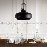 Luminárias pendentes de capuz de alumínio modernas de design novo para decoração de interiores