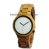 Аналоговый Quartz деревянные мужские наручные часы мужчины