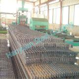 新式の安い電流を通された鋼鉄格子