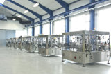 Tipo vertical máquina de rellenar auta-adhesivo de la máquina de etiquetado