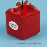 Boîte-cadeau d'Apple de sourire de réveillon de Noël