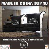 流行の贅沢な高品質のホーム家具の革ソファーセット
