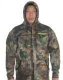 위장 내오프렌 온난한 어업 재킷 또는 의복