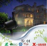 Proyector al aire libre azulverde rojo de la luz laser