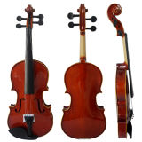 Sinomusik Solid Student Violin avec certificat BV / SGS