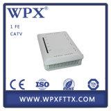 WPX-EU9131 FTTH CATV 1 SFP de fibra óptica Fe GEPON Epon ONU para los ISP