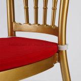 Chaise de mariage en aluminium Chiavari avec coussin de siège mobile