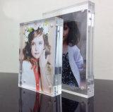 Blocco per grafici di cristallo acrilico da tavolino della foto