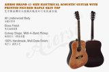 Aiersiの高品質学生の電気アコースティックギターSg028ae