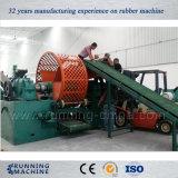 planta de recicl Waste do pneumático 500kg/H para o grânulo de borracha