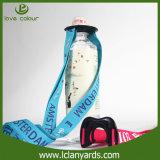 Профессиональный талреп держателя бутылки коллежа с логосом Silkscreen полиэфира
