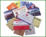 El plástico crea la tarjeta del PVC para requisitos particulares con la tira magnética Hola-Co