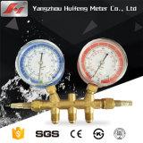Preço baixo do mini-300 bar cheio de óleo do Manômetro de Pressão Hidráulica
