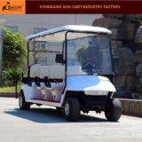 良質6のSeaterのゴルフコースのための電気ゴルフカート