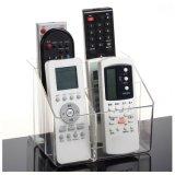 Organizzatore acrilico personalizzato del supporto di telecomando della TV