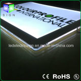 6mm ultradünner Kristall LED, der energiesparenden hellen Kasten bekanntmacht