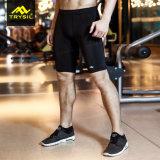 I Mens comprimono le calzamaglia di Short di sport dei pantaloni di scarsità