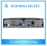 voor TV Satellite Receiver van Italy/UK/Spanish Zgemma H3.2tc Multistream dvb-S2+2X dvb-T2/C Digital met IPTV, 3D Ready
