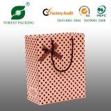 Bolsa de compras de papel con la cinta (FP11052)