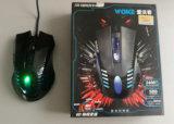 ratón atado con alambre óptico Jo29 6D LED del juego de gama alta de 2400dpi