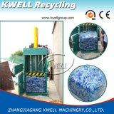 Пластичная бумага, бутылка, машина давления пленки, мягкий пластичный гидровлический Baler