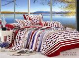 優雅なSize 4PC寝具一定王の羽毛布団カバー一定のMicrofiberの極度の柔らかい生命