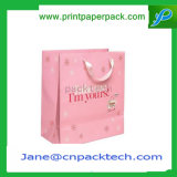 Sac de papier de achat de cadeau de sacs à main faits sur commande chauds de vente