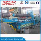 Première machine universelle de dépliement et de roulement de plaque d'acier du carbone du rouleau W11S-20X4000
