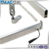 Boîtier en aluminium de profil de bande d'éclairage LED d'extrusion