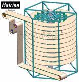 Hairise 음식 급료 수직 나선형 컨베이어 시스템