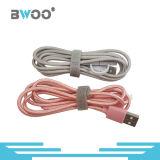 2 em 1 cabo USB do telefone com o Micro/Conector de 8 Pinos