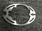 Profil ovale personnalisé de forme extrusion en aluminium/en aluminium
