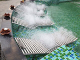 Кровать массажа воды нержавеющей стали