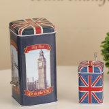 Великобританский комплект коробки нот олова типа ветра