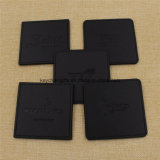 Set de 4PCS Office Desk Decor Meeting Cup Mat PU Cuir Beauté Thé Coasters