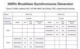 24 schwanzloser Drehstromgenerator Pole-50kw für hydrogeneratoren